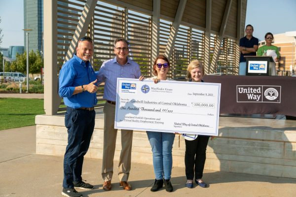 Goodwill Industries of Central Oklahoma receives 2021 WayFinder Innovation Grant